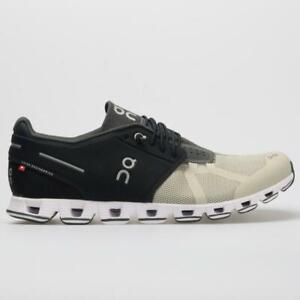 New-On-Cloud-50-50-Men-039-s-Black-Hay-CloudTec-Running-Shoes-r1