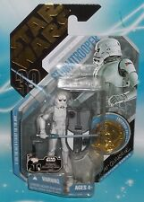 STAR WARS TAC 30TH ANNIVERSARY #09 MCQUARRIE CONCEPT STORMTROOPER &GOLD COIN UGH