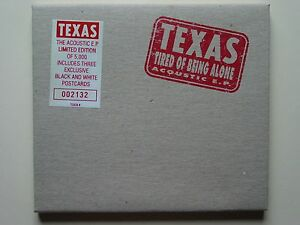 Texas-Tired-of-Being-Alone-Acoustic-EP-Ltd-Ed-with-3-Postcards-Sealed