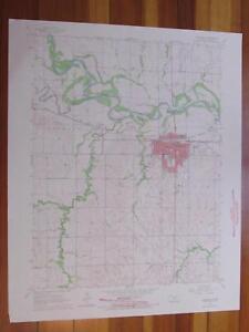 Concordia Kansas Map.Concordia Kansas 1966 Original Vintage Usgs Topo Map Ebay