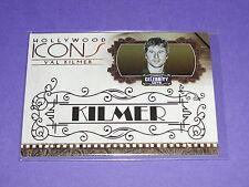 2008 Celebrity Cuts VAL KILMER Hollywood Icons Gold/25 Batman TOP GUN The Doors