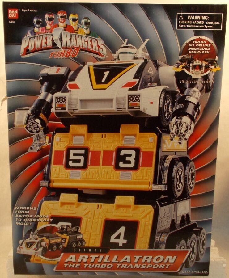 Energia Rangers  Turbo - Deluxe Artillatron The Turbo Transport Megazord (MISB)  negozi al dettaglio