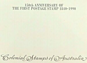 1990-Stamp-Pack-039-150th-Anniversary-of-the-First-Postage-Stamp-1840-1990-039-MNH