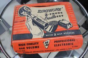 Zimphone Téléphone Jeu Maison en carton de l'original USA 1954-afficher le titre d`origine SgSZZRBl-08051622-991640570