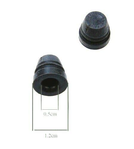 Brake kit 2 rubber cap for bleeder screw original BREMBO RACING ref.05150210