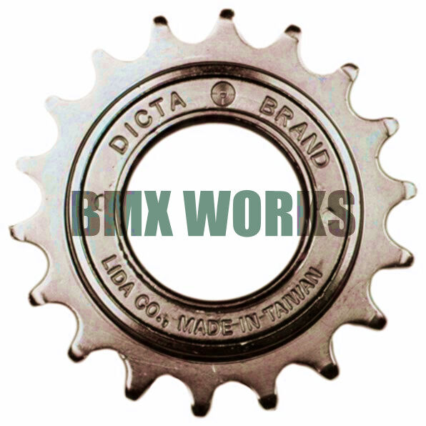 "M30 x1 Thread 7310 1//2 x 3//32/"" 13T DNP BMX Freewheel Screw-On Clutch Gear"