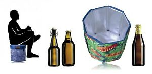Compact-Cooler-Stool-Basket-Carry-Bag-Insulated-Lunchboxes-Office-BBQ-Outdoor