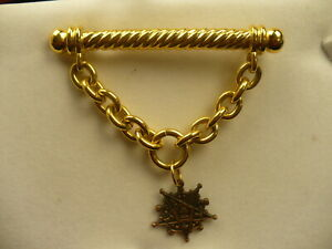 Eastern-Star-focal-statment-piece-booch-ornate-star-bar-pin-3-034-wide-2-5-034-dropOES
