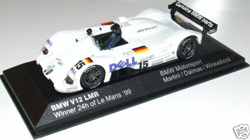 1 43 Escala 1999 Bmw V12 Lmr   15 Minichamps-Distribuidor