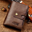 Men-Women-Genuine-Leather-Cowhide-Trifold-Wallet-Credit-Card-ID-Holder-Purse-New thumbnail 2
