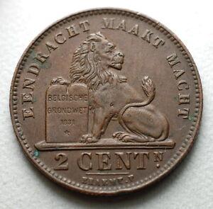 1919 Belgique Belgique Belgie 2 Cent Centimes Acktufsd-08001417-762200777