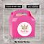12 grandes Personalizado Rosa Princesa Fiesta de Cumpleaños Gracias Pegatinas Sin Caja de 2