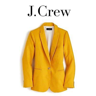 J CREW Parke Blazer Stretch Linen SZ 4 6 8 BLUSH PINK H9710 Jacket NEW SOLD OUT