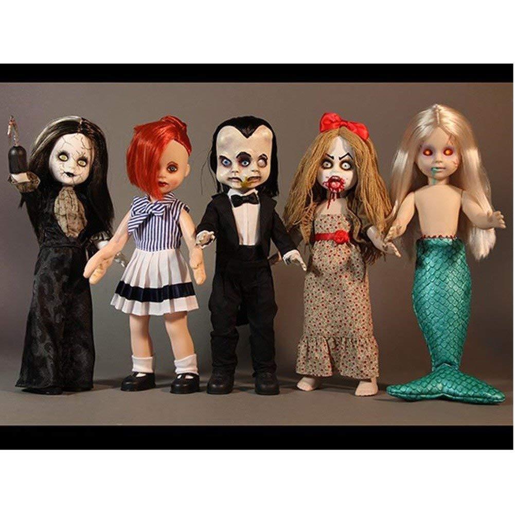 Mezco Juguetes  Living Dead Dolls  serie 30 Sideshow  Set completo con 5 Muñecas