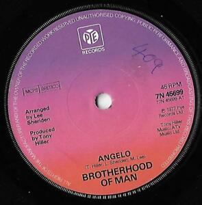Angelo  All Night Brotherhood Of Man VG - Thatcham, United Kingdom - Angelo  All Night Brotherhood Of Man VG - Thatcham, United Kingdom