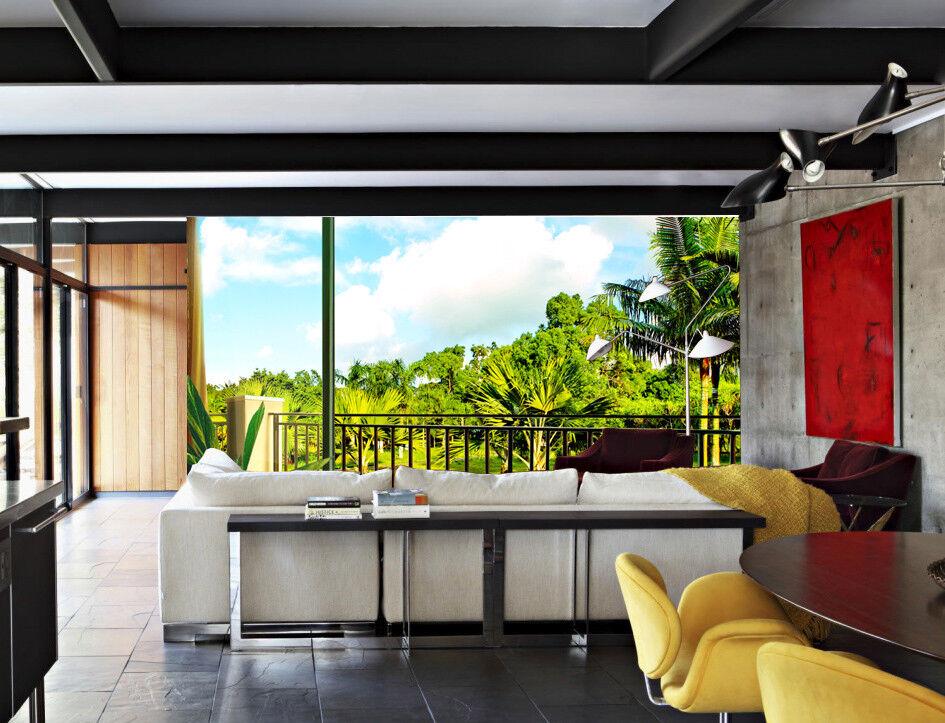 3D Plantage Balkon 72 Tapete Wandgemälde Tapete Tapeten Bild Familie DE Summer