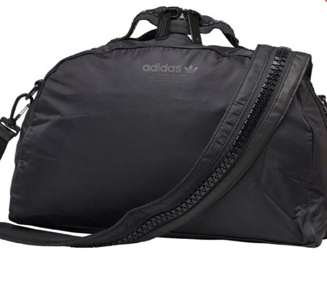 New ADIDAS ORIGINALS WOMEN'S Urban NMD Black Sport DUFFLE BAG (GymTravelWork)