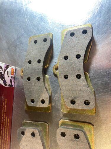 Disc Brake Pad Set Front,Rear Parts Master SMD8 fits 65-82 Chevrolet Corvette