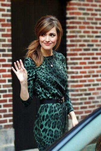 Dolce&Gabbana Green Leopard Print Dress