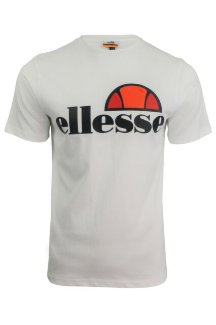 Ellesse Prado White Men/'s T-Shirt Size XL New With Tags