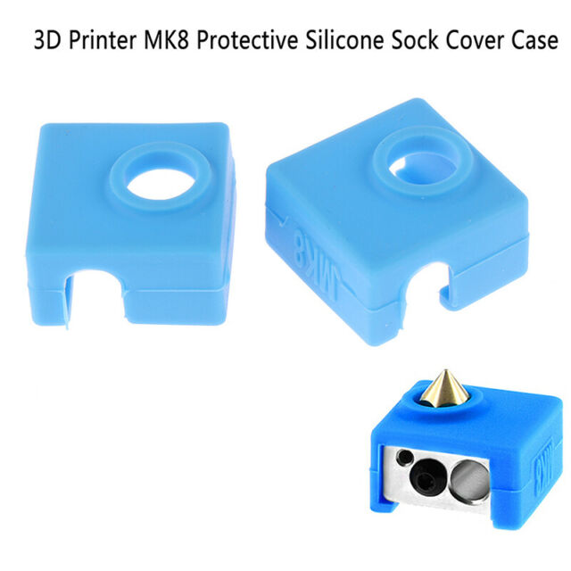 1PC 3D Printer MK8 protective silicone sock cover case for printer part TDC