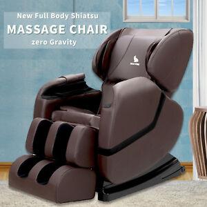 Image Is Loading Deluxe Full Body Shiatsu Massage Chair Recliner ZERO