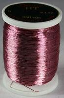 Gudebrod Rod Building Thread 1 Oz Spool Dusty Rose 9337 Ht Metallic Size D