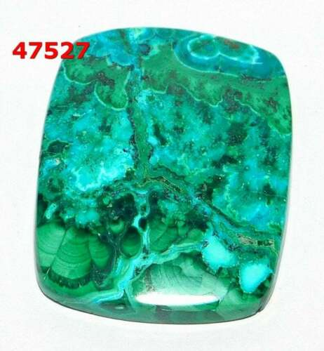 Details about  /Natural Azurite In Malachite Smooth Cab Loose Gemstone Wholesale Lot 47527