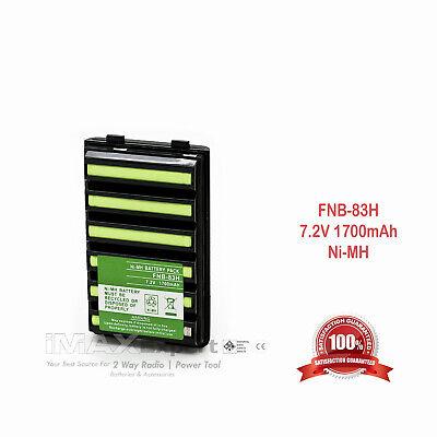 FNB-V57 FNB-64 FNB-83 FNB-V94 2000mAh Battery Charger STANDARD HORIZON LI-ION