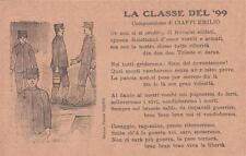 7740) WW1, LA CLASSE DEL 99, COMPOSIZIONE DI EMILIO CIAPPI.