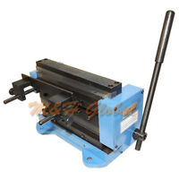 Mini 8'' Shear Brake Bender Sheet Metal Brass Cutting Cutter