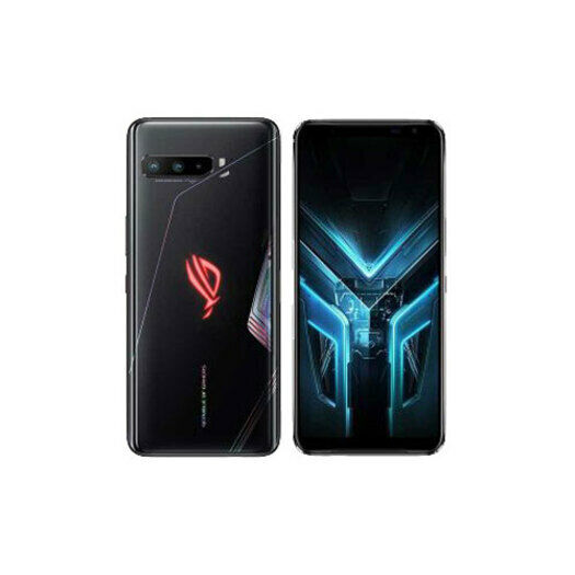 Asus ROG Phone 3 ASUS_I003DD 128GB 12GB RAM Gaming Phone, 5G SD865 – Black