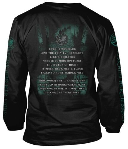 NEW /& OFFICIAL! Cradle Of Filth /'Dusk And Her Embrace/' LS Shirt