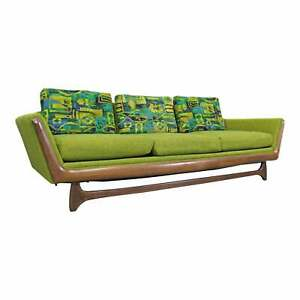 Details about Mid-Century Danish Modern Adrian Pearsall Style Sofa by  Prestige