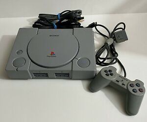 Authentic-Original-Sony-PlayStation-PS1-Console-w-Controller-TESTED-WORKING
