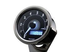Daytona Velona Motorcycle 8K RPM/Tachometer polished stainless case incl bracket