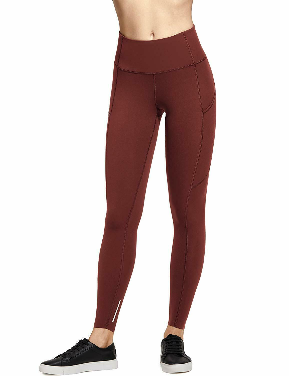 CRZ YOGA Women's Naked Feeling High-Rise Tight Training Yoga Leggings