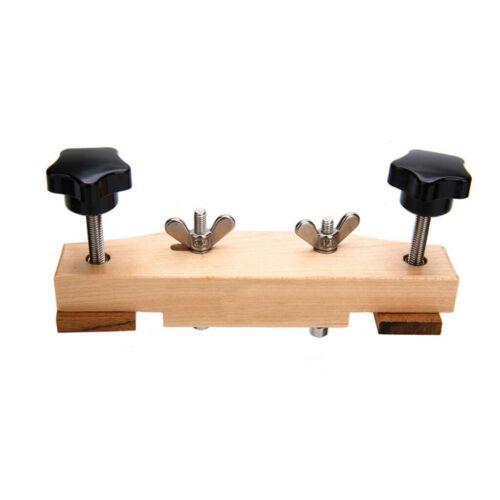 Reparatur Wartung Werkzeuge Qualität Ahornholz Akustikgitarren Stegklemme