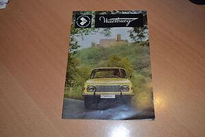 CATALOGO-Wartburg-353-de-1971