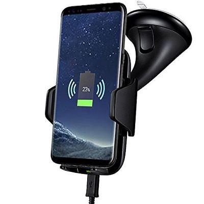 2019 Ultimo Disegno Universal Mobile Stand Wireless Veloce Caricabatteria Da Auto Supporto Per Iphone Samsung- Scelta Materiali