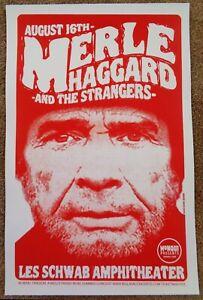 MERLE-HAGGARD-2006-Gig-POSTER-Bend-Oregon-Concert