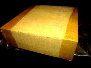 "Beautiful Kiln Dried Mahogany Bowl Blank Lathe Turning Wood  6/"" X 6/"" X 2/"""