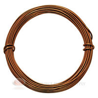 39 Ft. Lt. Copper Aluminum Craft Wire 12 Gauge Jewelry Making Beading Wrapping