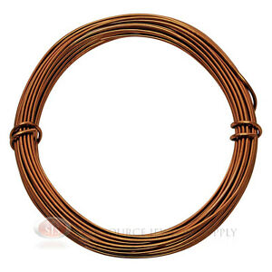 39-Ft-Lt-Copper-Aluminum-Craft-Wire-12-Gauge-Jewelry-Making-Beading-Wrapping
