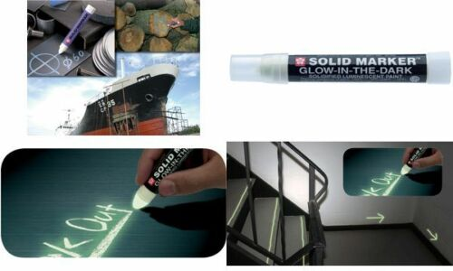 "Sakura Industriemarker /""Solid Marker Glow in the Dark/"""