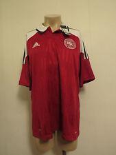 Denmark 2012-13 (EURO2012) home shirt camiseta maillot size XL Adidas *BNWT*