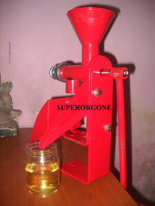 Oil Press Oil Expeller Peanut nut Seed DIY Pressing Green Pure Oil Hand Operated