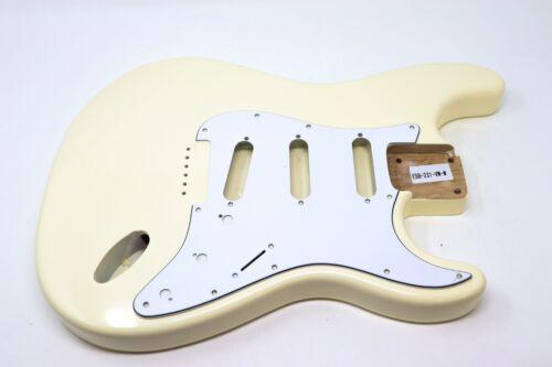 Eden® Premier Series DIY Alder Hardtail Strat Body Vintage White