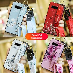 For-Samsung-Galaxy-J2-J3-J4-J5-J6-J7-J8-S10-S9-S8-S7-Diamond-Floral-Strap-Case