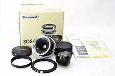 *Top Mint in Box* Voigtlander SC SKOPAR 25mm f/4 with Viewfinder for Nikon #N708